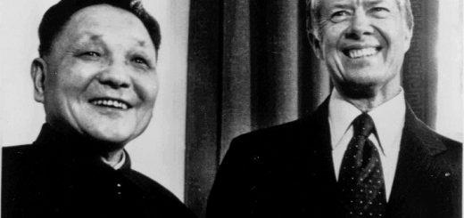 美国前总统吉米·卡特致中华人民共和国习近平主席阁下的贺信