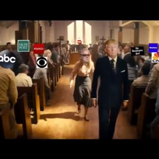 """假视频描绘川普""""枪杀""""媒体遭白宫谴责 YouTube称不违规"""
