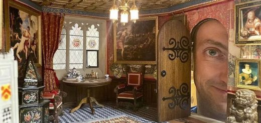 12岁打算跟老爸做一间迷你城堡,现在他42岁,做成的城堡惊叹了!!