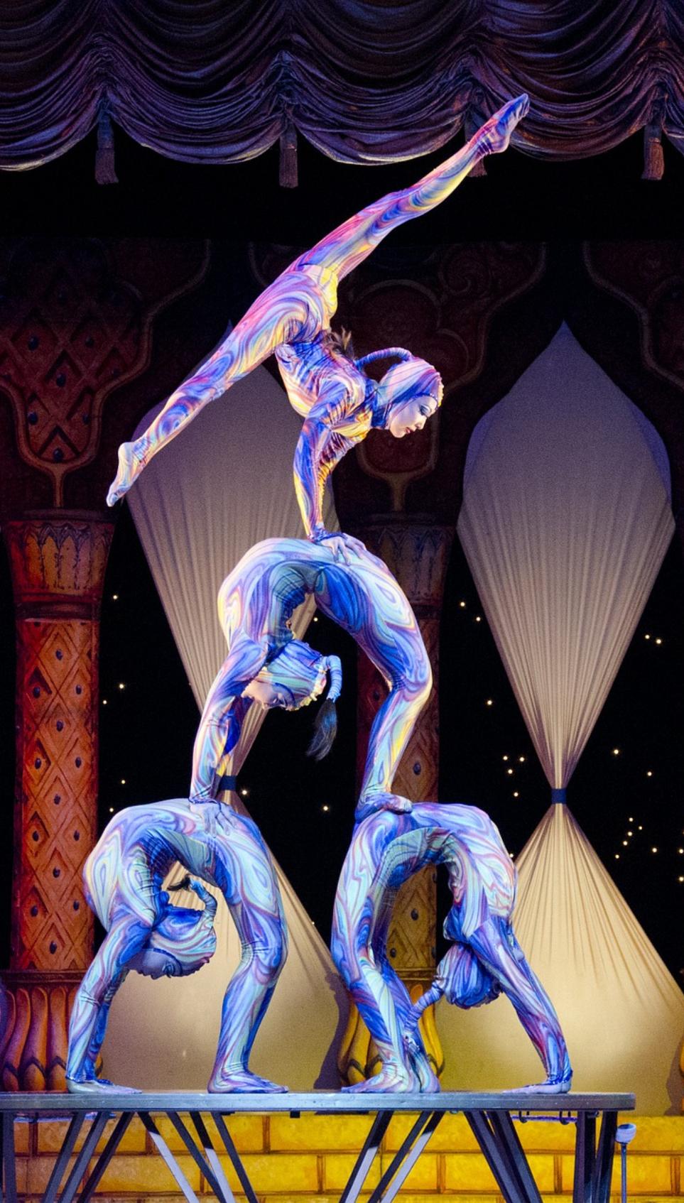 Cirque du Soleil VOLTA 太阳马戏团