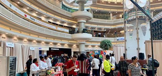 亚特兰大国际机场举行第五届美食节