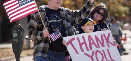 庆祝美国老兵节—— 邻居老兵的邀请