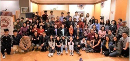 乔治亚州华裔共和党人 — 学生义工答谢会