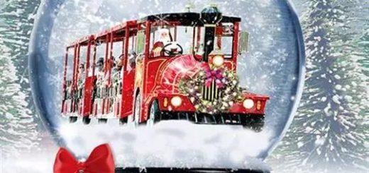 开往童话王国的假日火车:来佐治亚州过圣诞节吧!