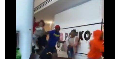 一片混乱!美国亚特兰大一商场传枪声,购物者四散而逃