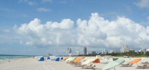 耗费1600万 美国政府每天把沙倒在迈阿密海滩上