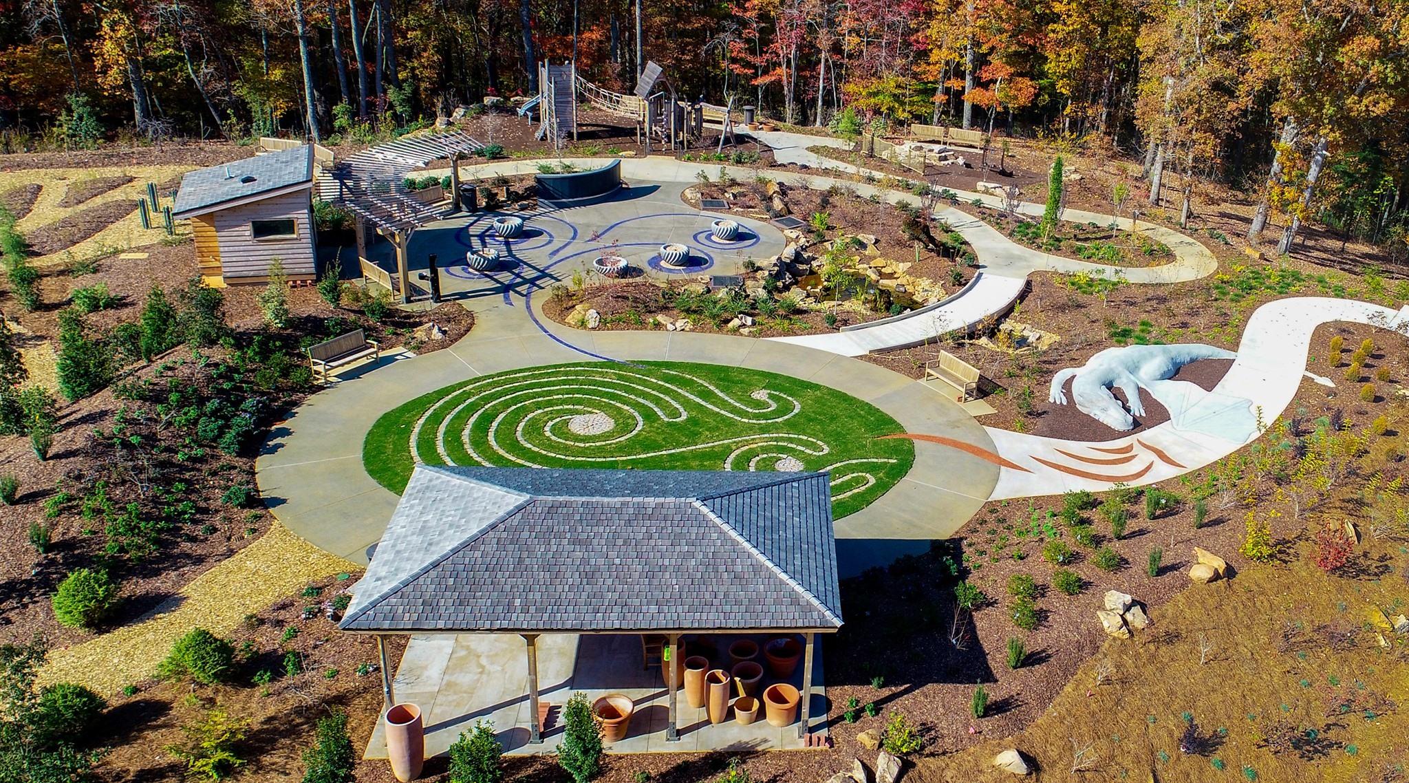 新儿童Atlanta Botanical Garden开放日