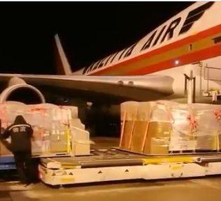 1亿美金,17.8吨物资,美国是目前全世界提供捐助最多的国家