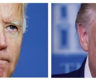 """""""你傻逼!你闭嘴!"""" 俩老人口水战 美总统大选首场辩论混乱中落幕"""