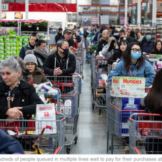 恐怖! 超市成重要传染源! 20%员工感染 多数无症状 成超级传播者!