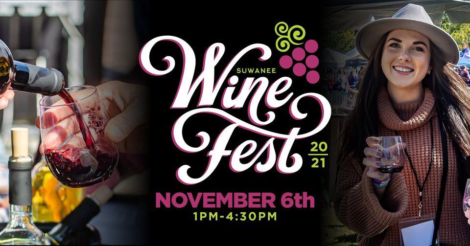 周末活动 | 第8届 Suwanee 葡萄酒节