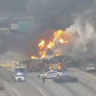 突发! I-285 发生重大交通事故,暂时封闭!
